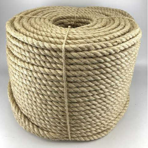 WHOLESALE NATURAL JUTE ROPE PACKAGING ROPE WITH NATURAL COLOR