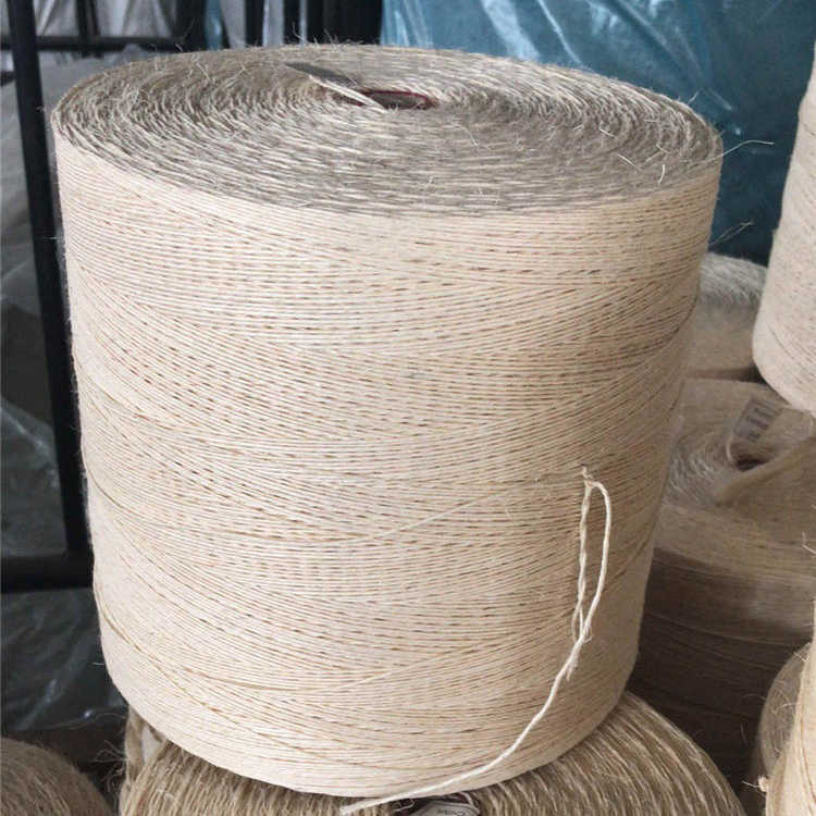 SISAL YARN 300-1000 M/KG SISAL TWINE SISAL FIBER TWIST FOR PACKING / GARDENING / STEEL WIRE ROPE CORE