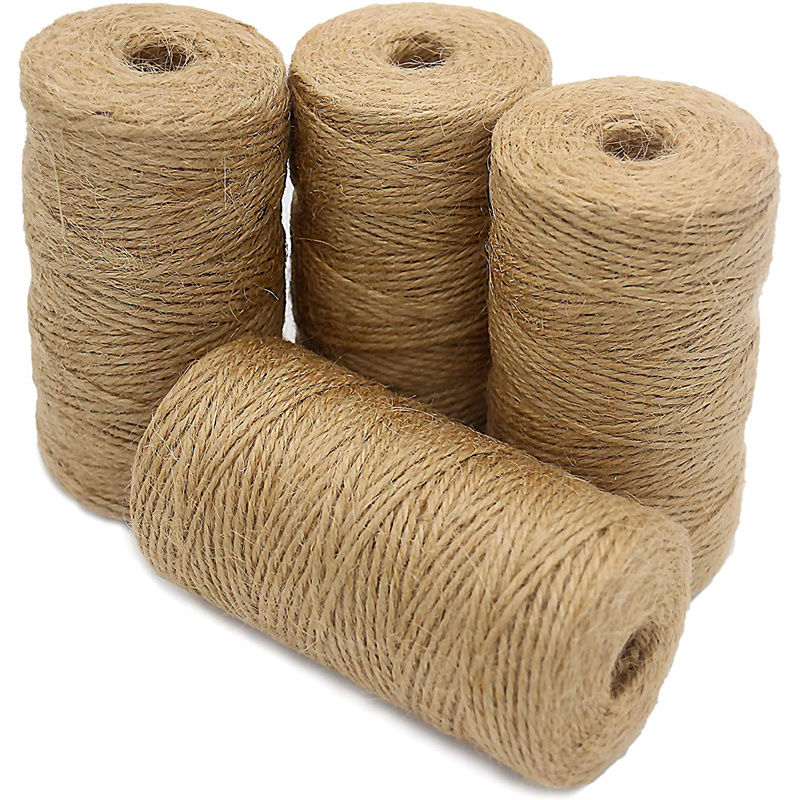 HOT SALE 100% JUTE YARN HIGH QUALITY JUTE TWINE MANUFACTURER